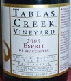 2010 Tablas Creek - Esprit de Beaucastel