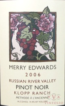 2006 Merry Edwards - Pinot Noir Klopp Ranch