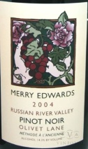 2004 Merry Edwards - Pinot Noir Olivet Lane (Methode a l'Ancienne)