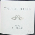 2002 Three Hills - Shiraz