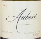 2007 Aubert - Chardonnay Reuling Vineyard